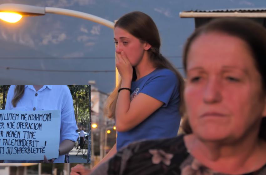 Lypte rrugëve për operacionin e nënës, derisa shqiptarët dëgjuan lutjet e saj