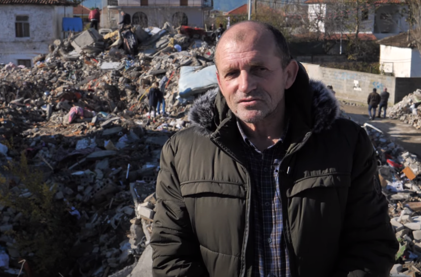 """Thumanë/ """"Fqinjët që i mbijetuan tërmetit nuk e dinë që u është shuar familja"""""""
