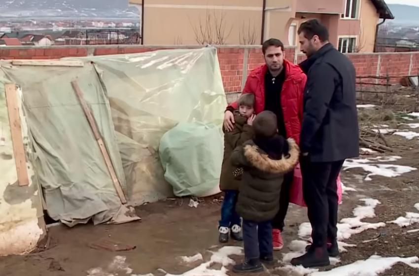Lorik Cana dhe Elvis Naçi lumturojnë fëmijët e braktisur nga nëna