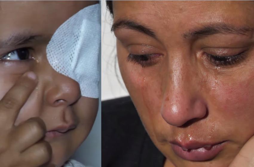 """""""Luftë gjithë jetën, as sytë s'ja shpëtoj dot vajzës"""" Prindërit e 3 vjeçares i luten shqiptarëve"""