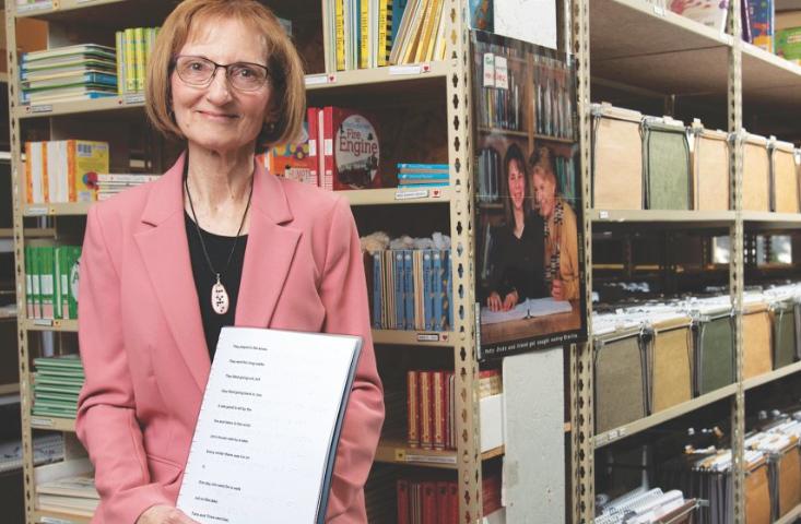 """""""Në këtë botë vijmë për të bërë mirë"""" Historia e gruas që për 37 vite prodhoi libra për të verbrit"""