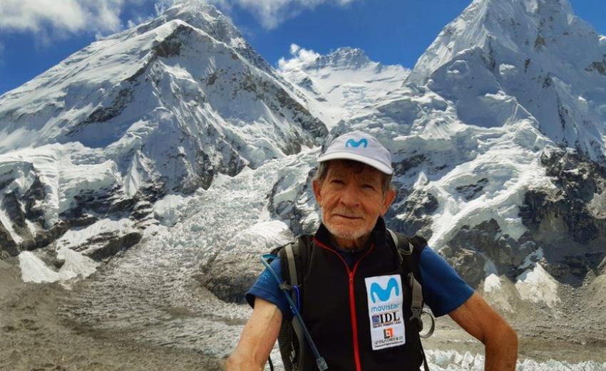 81 vjeçari që ka ngjitur majat më të larta të botës