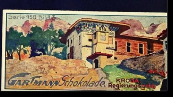 Vitet 1900, kur historinë e Shqipërisë e gjeje në çokollata gjermane