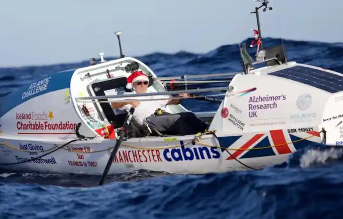 70 vjeçari përshkon Atlantikun! Mbledh donacione në luftën kundër sëmundjes që i mori njeriun e afërt
