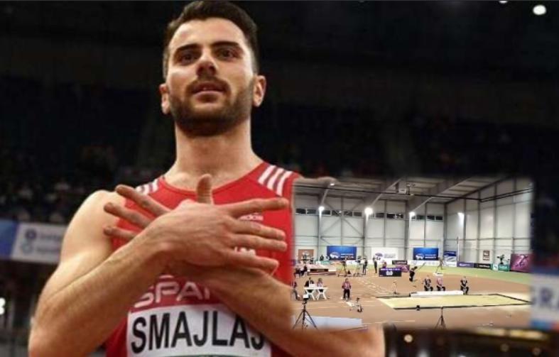 Atleti shqiptar merr medalje të artë në Beograd, shikoni hedhjen e tij prej thuajse 8 metrash