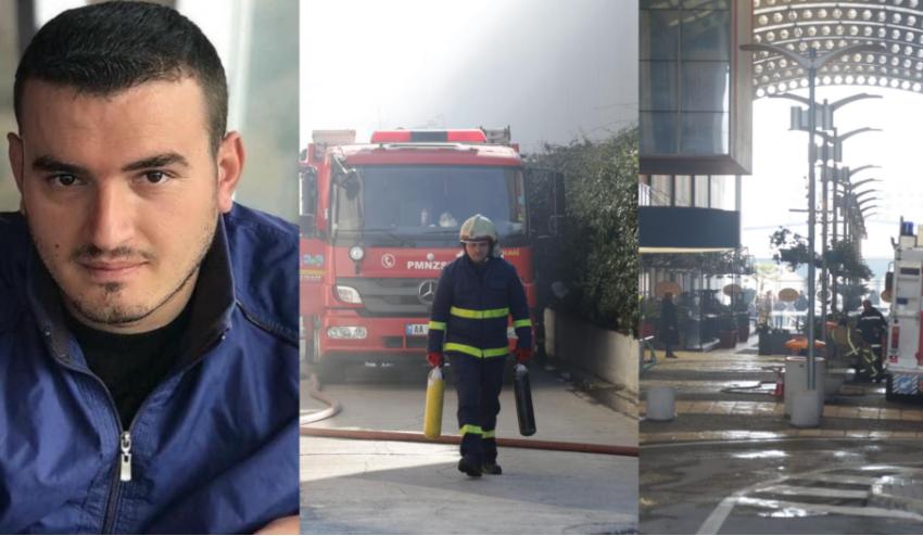 """Shpëtoi 20 persona gjatë zjarrit në magazinë! Arjan Sala shpallet """"Dëshmor i Atdheut"""""""