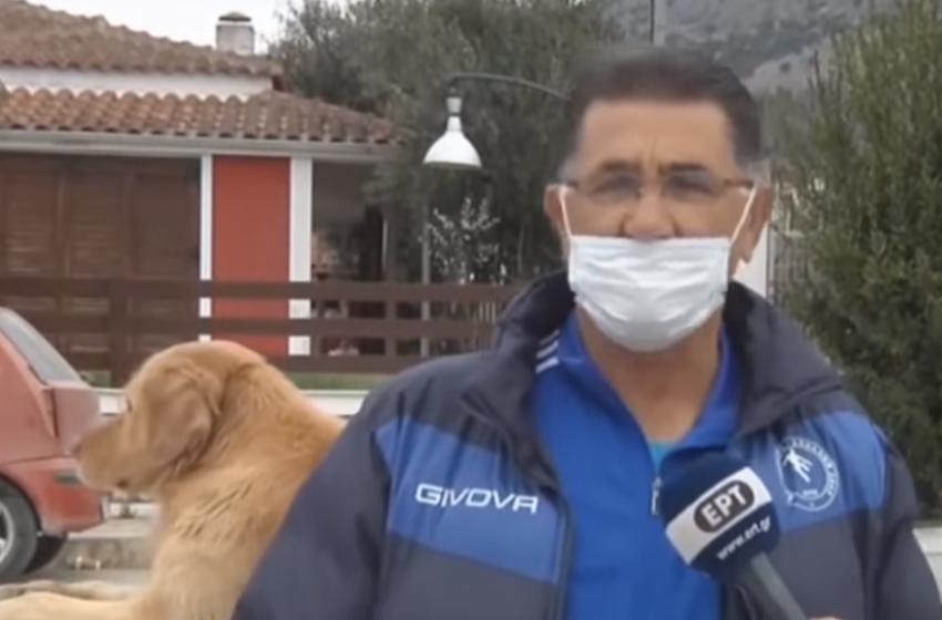 """""""Na tërhoqi nga pantallonat"""" Qeni shpëton familjen nga tërmeti"""