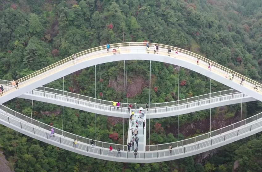 """Një urë që """"valëzon në ajër"""""""