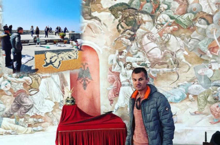 Një portret i heroit kombëtar, krijimi i veçantë i artistit kosovar