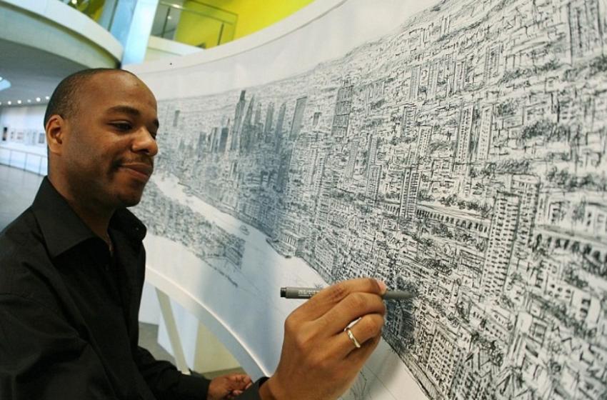 Historia e një personi me autizëm, që vizaton qytete të tëra falë memorjes