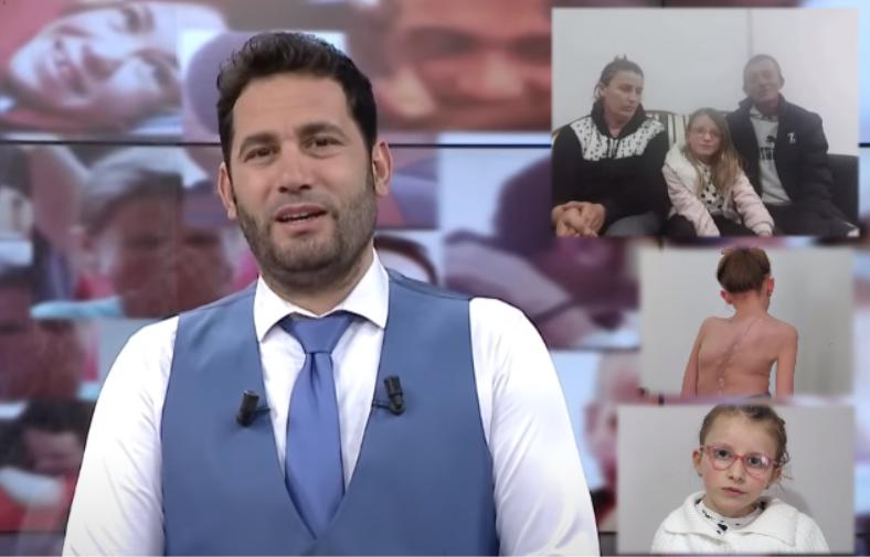 Elvis Naçi i jep lajmin e shpresës 11 vjeçares së prekur me skoliozë