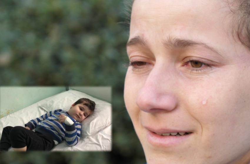 """""""I lutem Zotit të mos më marrë djalin"""" Thirrja e një nëne për 5 vjeçarin e prekur nga tumori"""