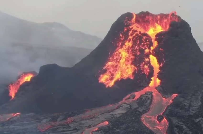 Pas 800 vitesh 'qetësi'! Shikoni pamjet mbresëlënëse të shpërthimit të vullkanit në Islandë