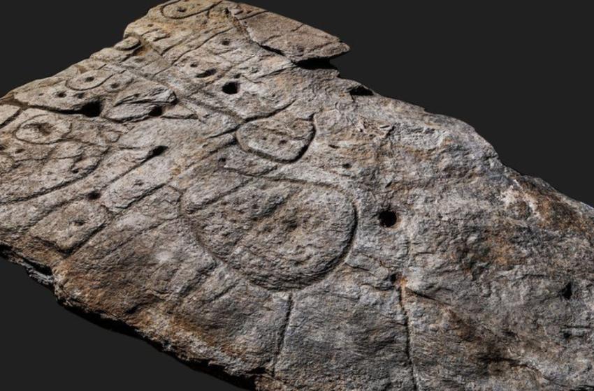 Harta më e vjetër në Evropë është kjo pllakë guri