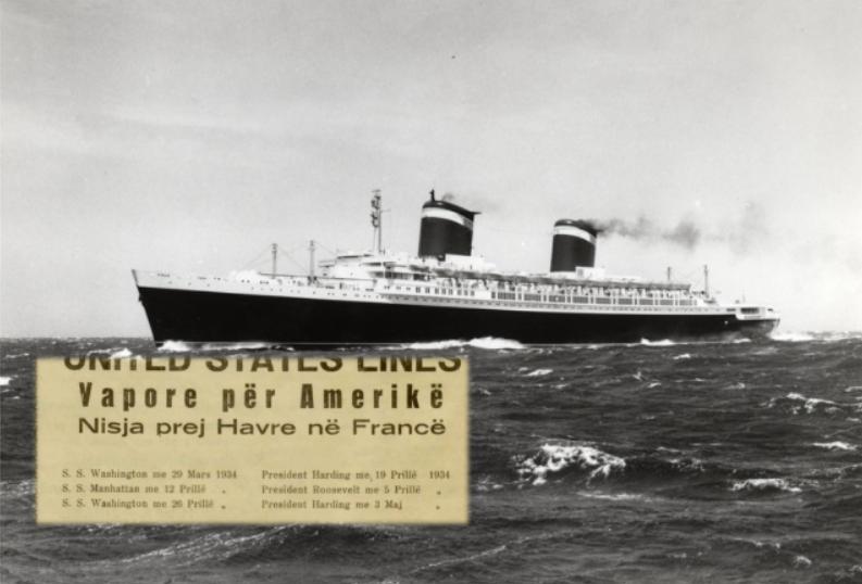 """""""Vapore për Amerikë"""" Sa kushtonte bileta drejt SHBA-ve në Shqipërinë e vitit 1934"""