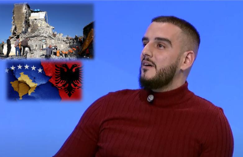 Bashkimi i shqiptarëve për tërmetin në Shqipëri! Gold AG këndon vargjet kushtuar 26 nëntorit