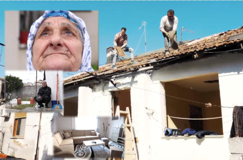Shqiptarët nuk i lanë më të vetmuar! Shikoni shtëpinë e rindërtuar për dy të moshuarit