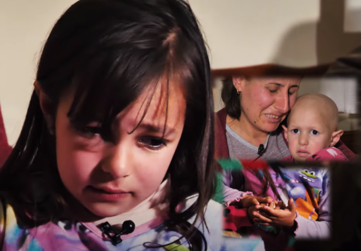 """""""Dua t'i kreh flokët motrës"""" Fjalët e vogëlushes për motrën me tumor të këpusin shpirtin"""