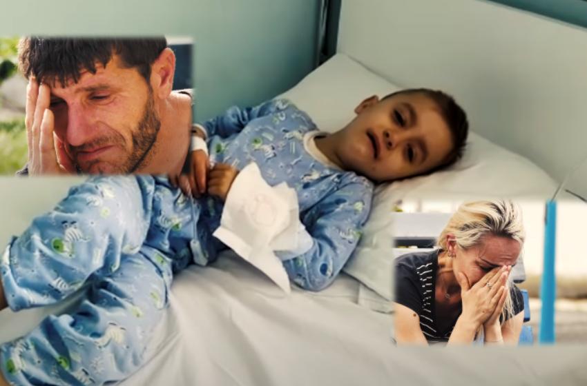 """""""E jap jetën, vetëm Eljo të shërohet"""" Këtyre dy prindërve u kanë mbetur vetëm lotët dhe lutjet"""