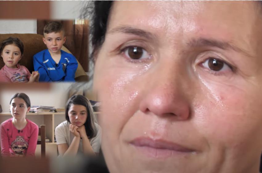 """""""Lutem t'mos vdes rrugëve me kalamajtë"""" Historia e trishtë e një nëne që rrit 4 jetimë"""