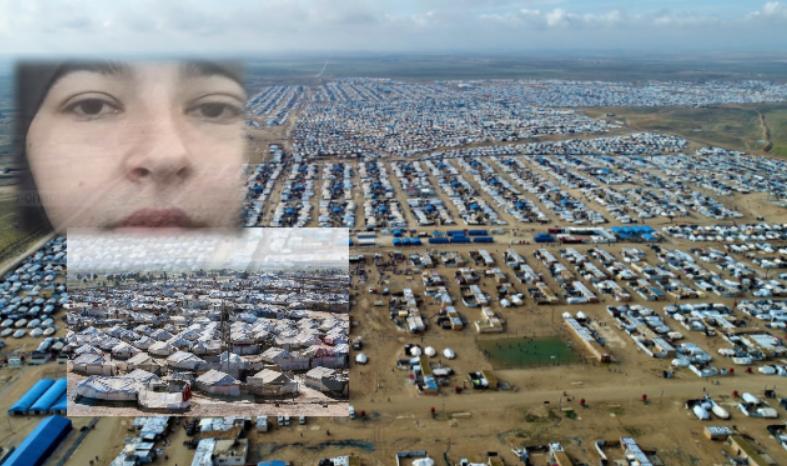 Thirrja e 18 vjeçares shqiptare nga kampi sirian