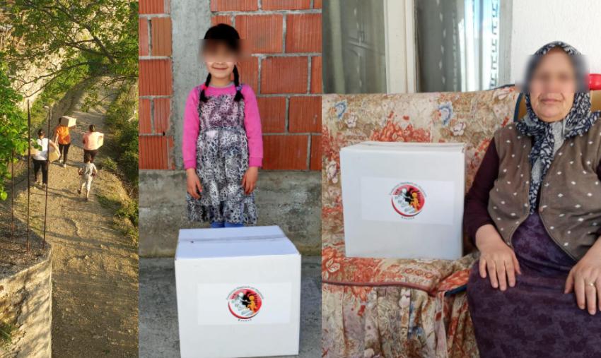 """Në ndihmë të shqiptarëve! """"Firdeus"""" shpërndan mijëra pako ushqimore për nevojtarët"""