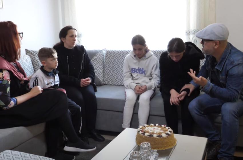 Shqiptarët i bënë me shtëpi! Shikoni dhuratën e mërgimtarit për familjen e minatorit të ndjerë