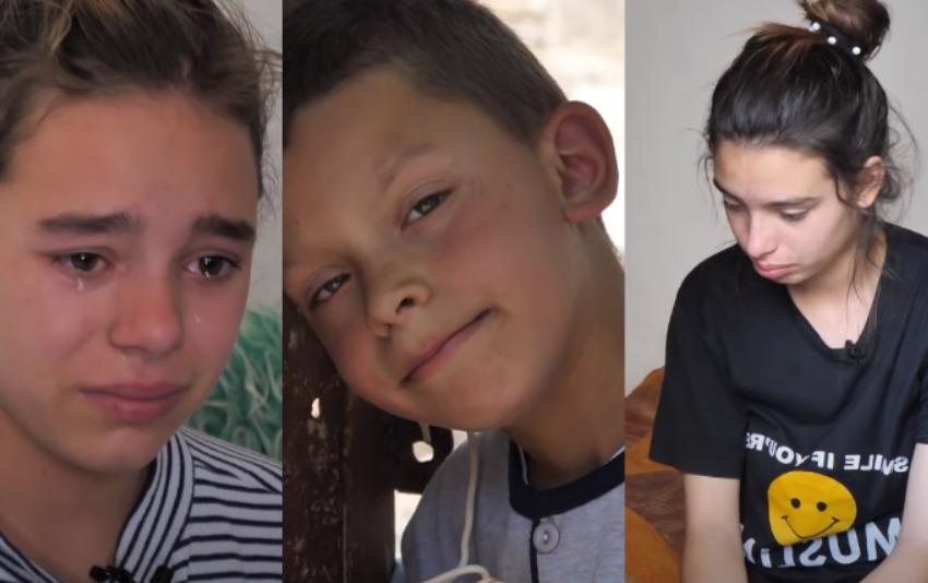Të braktisur nga babai! Çfarë vuajtjesh kanë kaluar këto tre fëmijë