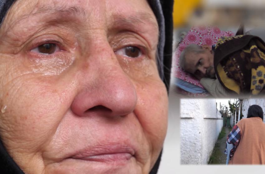 Pa fëmijë, i shoqi sëmurë rëndë dhe vetë më këmbën e thyer… mjerimi i të moshuarve në Durrës