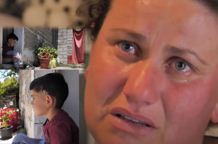"""""""Jeta ime një skëterrë, ç'e dua po s'pata djalin?"""" Rrëfimi i një nëne, i biri vuan nga tumori në kokë"""