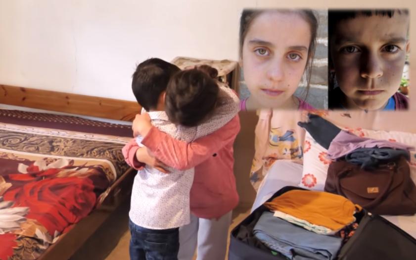 Fjalët e fundit të motrës, përpara se vëllai binjak të niset për t'i shpëtuar tumorit