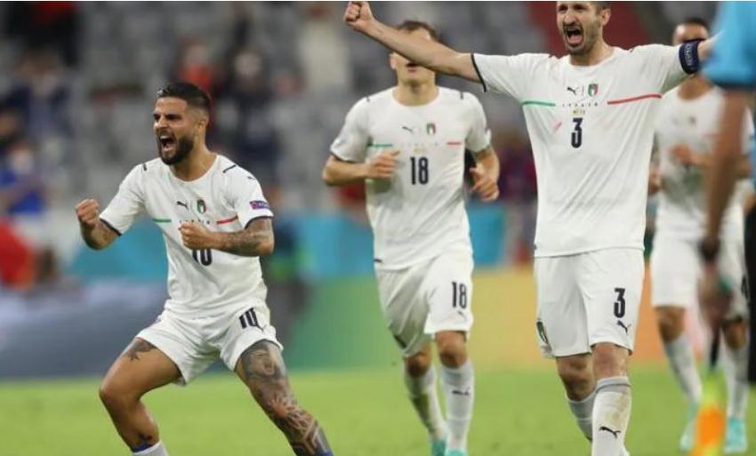 Italia në gjysëm finale, mposht Belgjikën me rezultatin 2-1