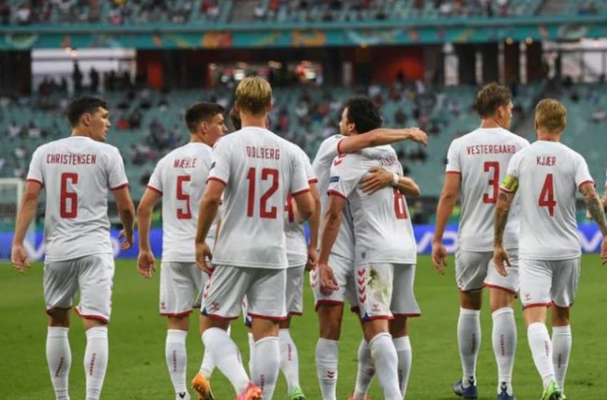 Danimarka dërgon në shtëpi Çekinë, fiton me rezultatin 2-1