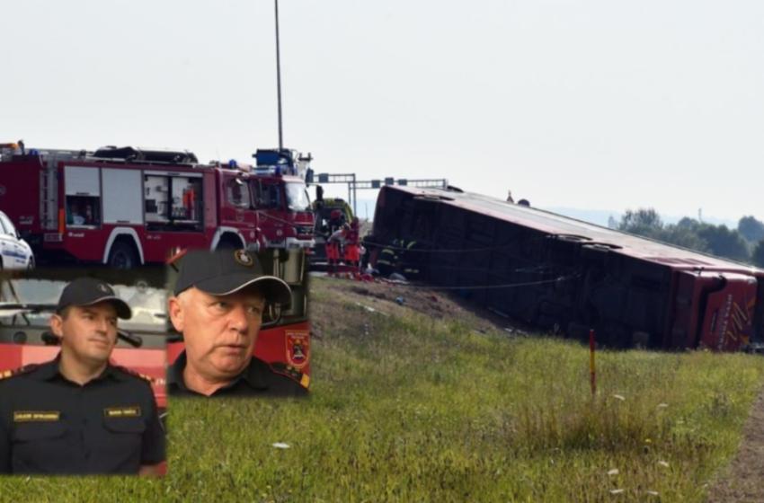 Shkuan të parët në aksidentin me 10 viktima, ja se çfarë rrëfejnë zjarrfikësit kroatë