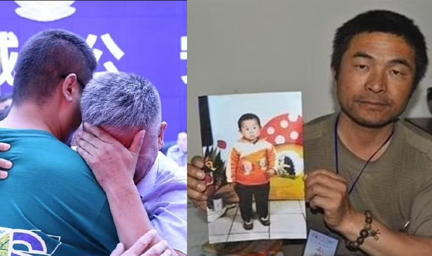 Pas 24 vitesh duke e kërkuar! Momenti kur babai përqafon djalin që ia rrëmbyen kur ishte 2 vjeç