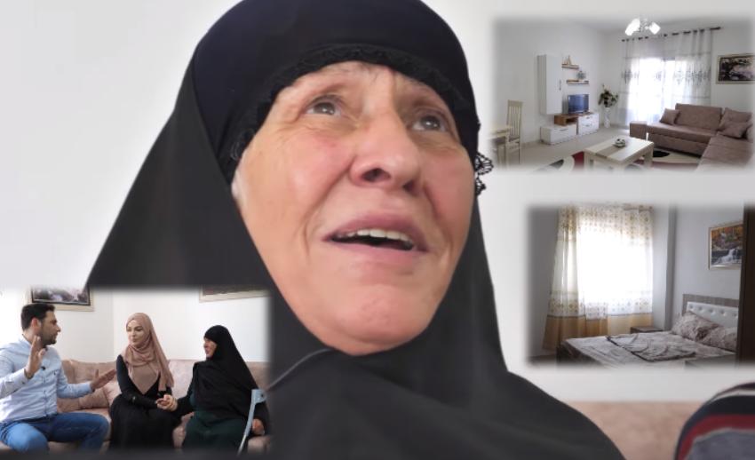 Nënë Fatmira shpërthen në lot! Çifti i të moshuarve lë kasollen dhe shkon tek mrekullia e shqiptarëve