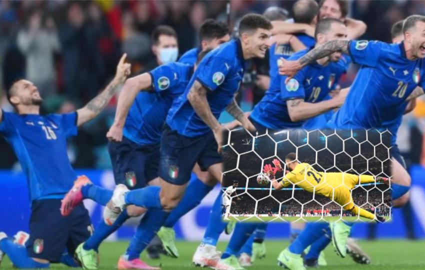 Italia shpallet kampione e Europës