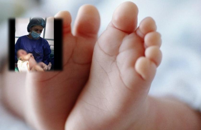 Një rast i rrallë në gjinekologjinë shqiptare, lind një foshnje me peshë afro 6.5 kilogramë