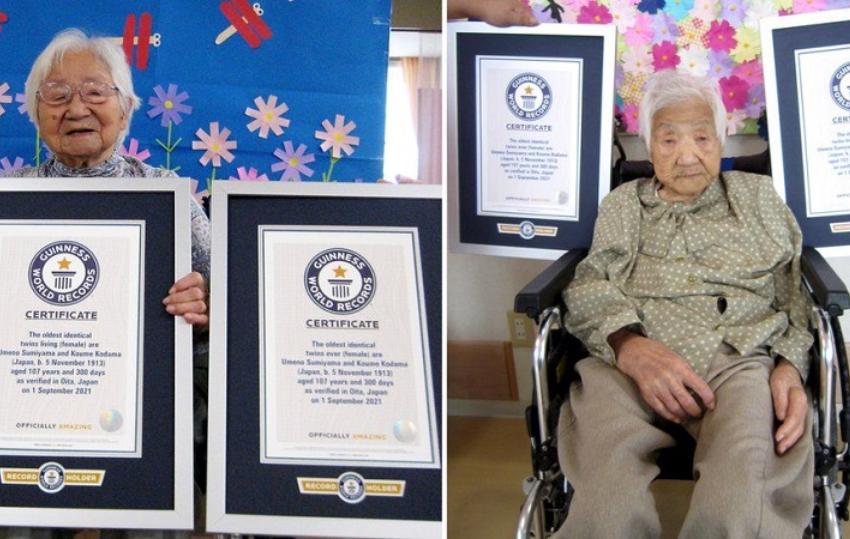 Motrat binjake më të vjetra në botë, kanë lindur në 1913
