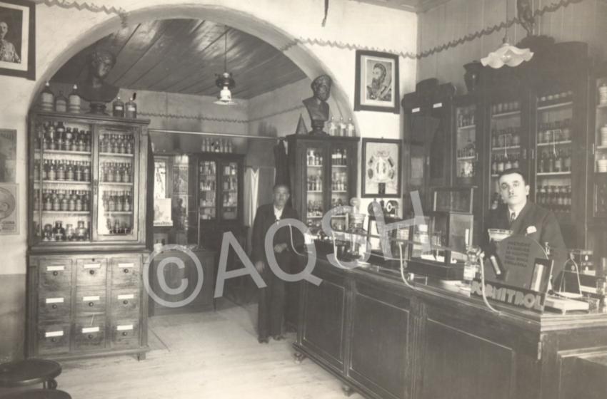 Fotolajm, si dukej një farmaci shqiptare e shekullit të shkuar