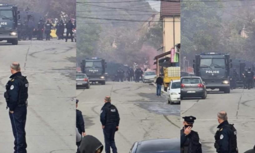 Pamjet video, si u tensionua situata në veriun e Mitrovicës