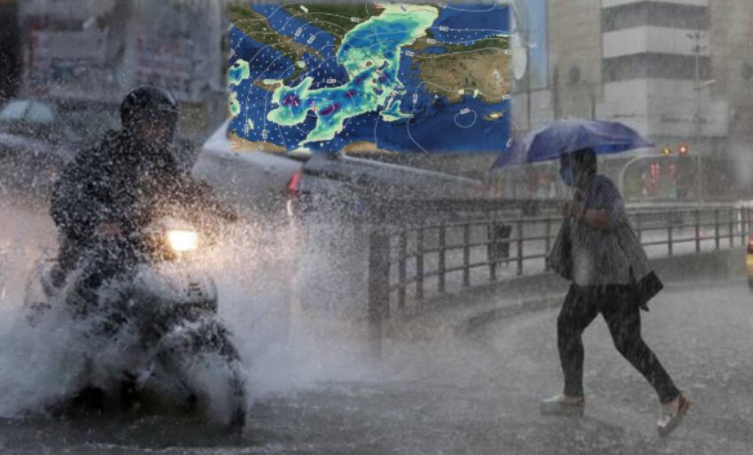 Në mbrëmje një pjesë e Shqipërisë përfshihet nga moti i keq me stuhi e reshje të dendura shiu