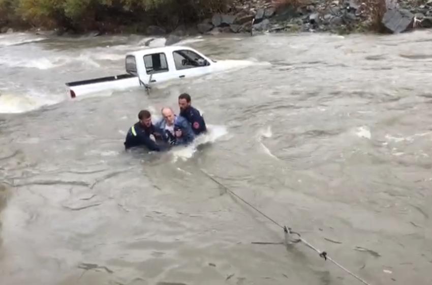 Rrezikuan të mbyten, shpëtohen tre turistët e huaj në Maliq